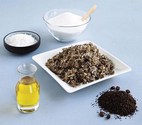 Ингредиенты домашнего скраба для похудения