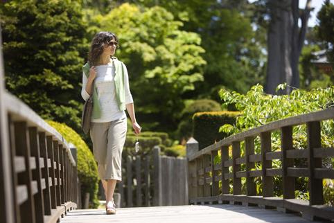 Пешие прогулки полезны во время диеты