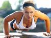 Упражнения для похудения рук и плеч для девушек в зале и дома