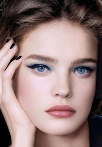 макияж для голубых глаз 5