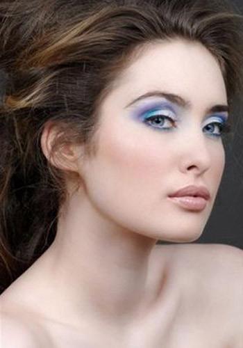 макияж для голубых глаз 7