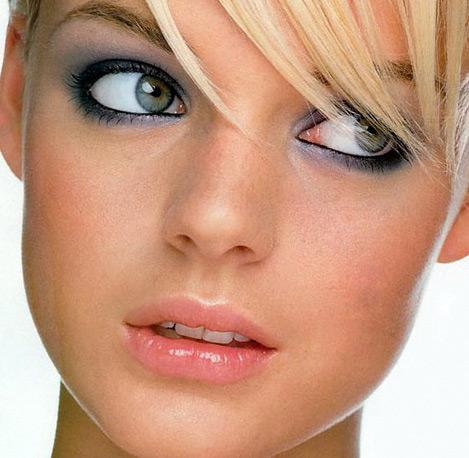 макияж для голубых глаз 9