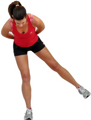 физические упражнения для похудения ног