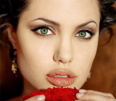 особенности макияжа для зеленых глаз