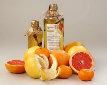 эфирные масла лимона и апельсина