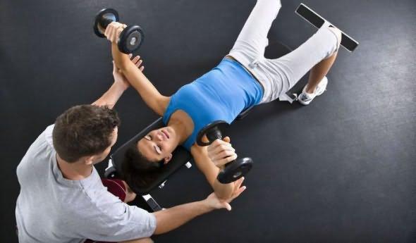 Помощь тренера при похудении