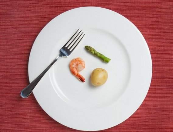 Уменьшение размера порции