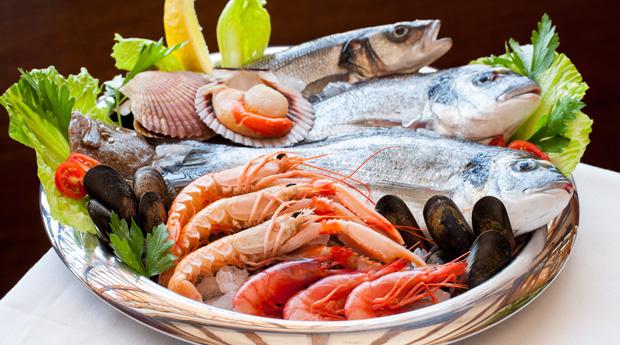 Морепродукты при кормлении