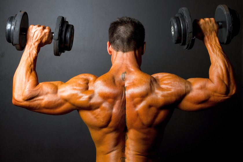 Упражнения на плечи
