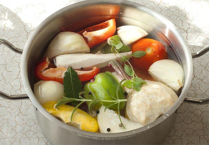 Свежие овощи для диетического супа