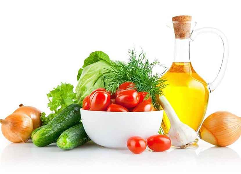 Свежие овощи  после операции геморроя