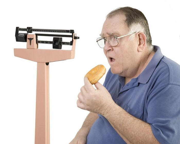 Лишний вес при сахарном диабете