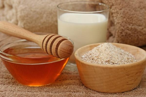 Ингредиенты для скраба из овсянки