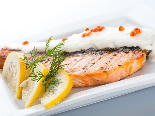 Рыбное блюдо на ужин