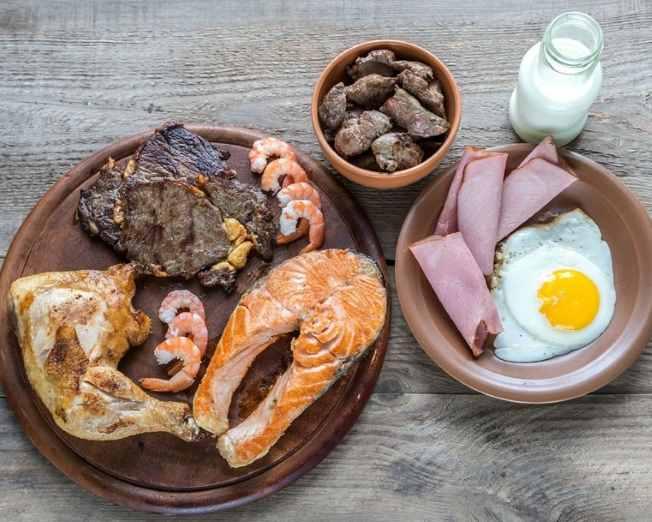 Белковая пища для похудения
