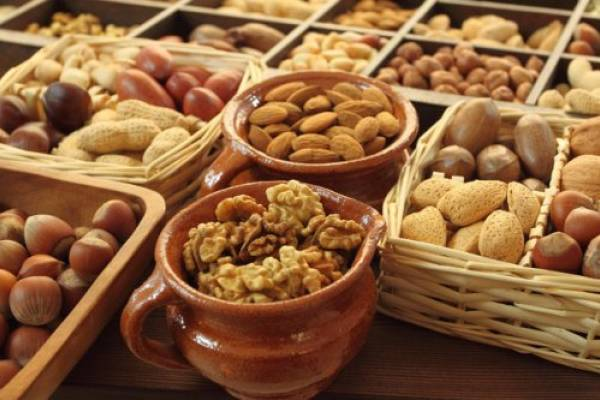 Орехи в качестве источника белка