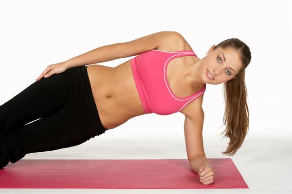 Упражнения, чтобы убрать бока