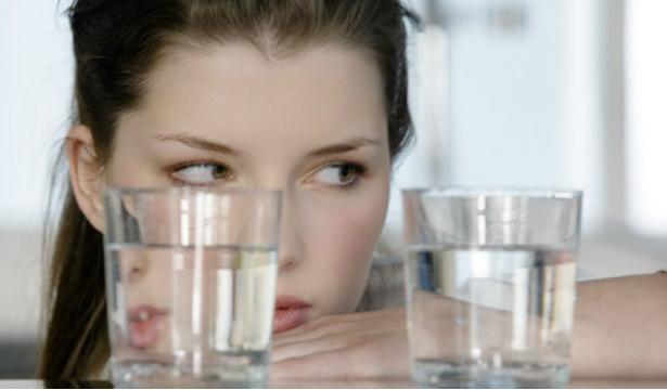 Два стакана воды перед едой