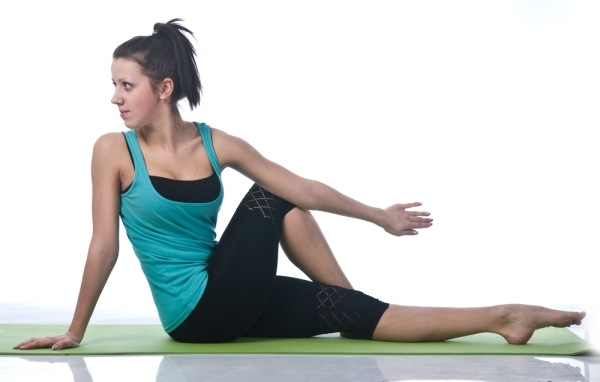 Упражнение на скручивание