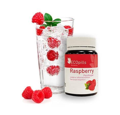 Конфеты для похудения ECOpills Raspberry