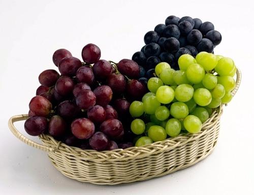 Виноград для очищения организма
