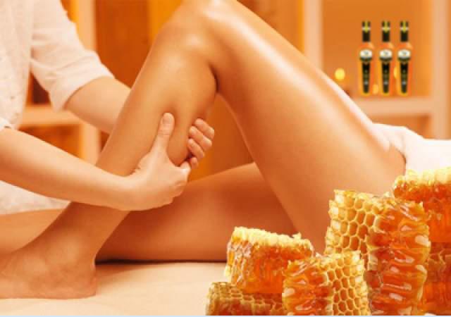 Эффект медового массажа - упругая кожа
