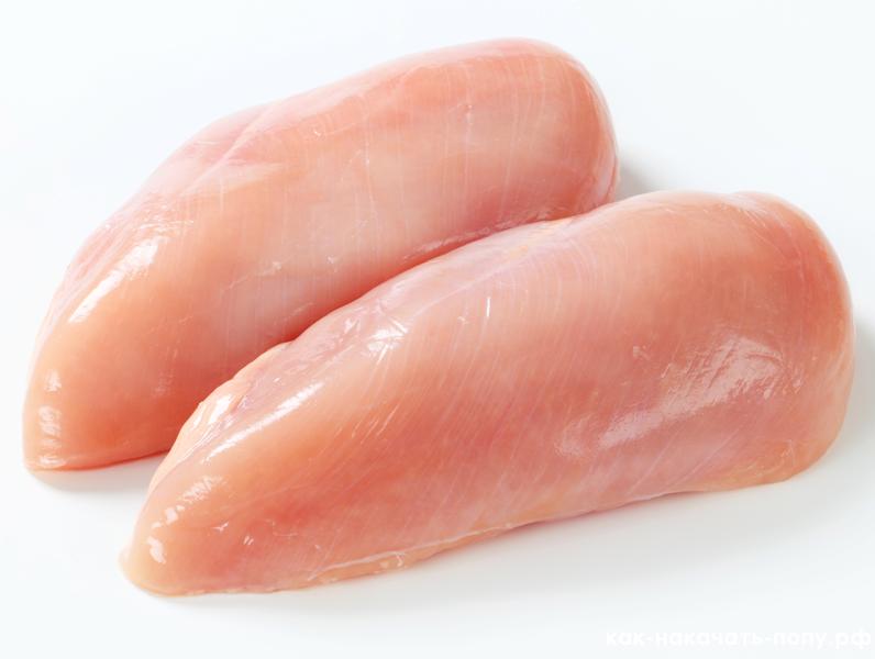 Куриное филе без кожи